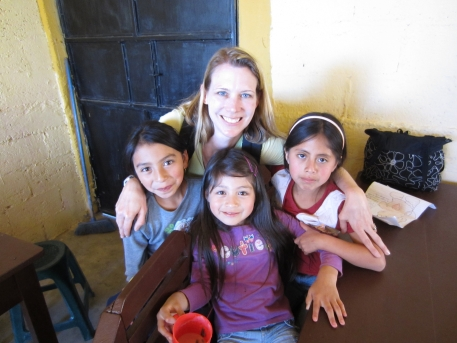 Me and my friends at a school I volunteered at in Guatemala.
