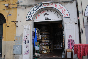 If you didn't already know, there are reminders everywhere that Puccini is Lucca's famous son