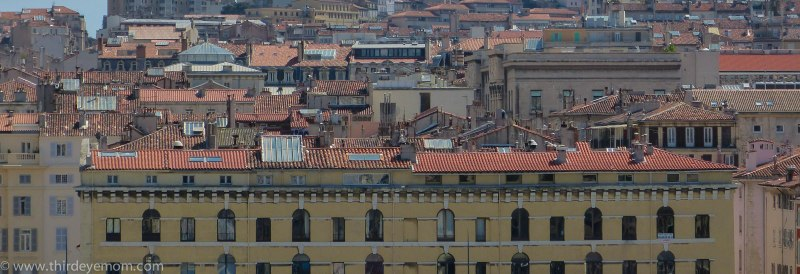 Rooftops of Marseille.