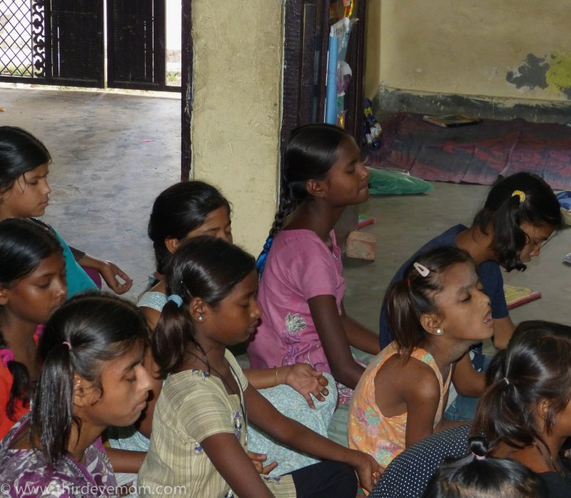 The beautiful girls at Protsahan finally getting a better future for themselves.