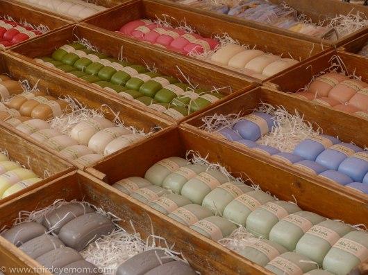 Fragrant Provencal handmade soap