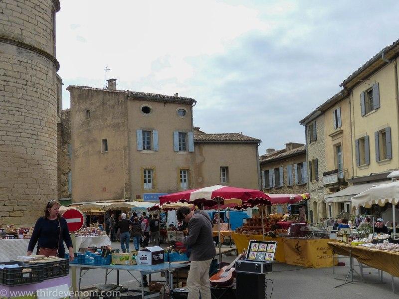 The market in Gordes France
