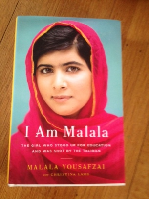 "Cover of Malala's new book ""I Am Malala"" which was released this week."