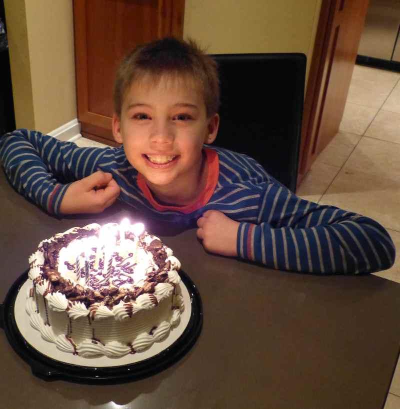 Max's 9th Birthday