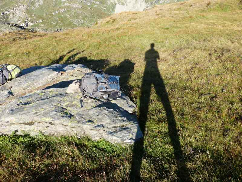 Shadow in Vanoise National Park, France