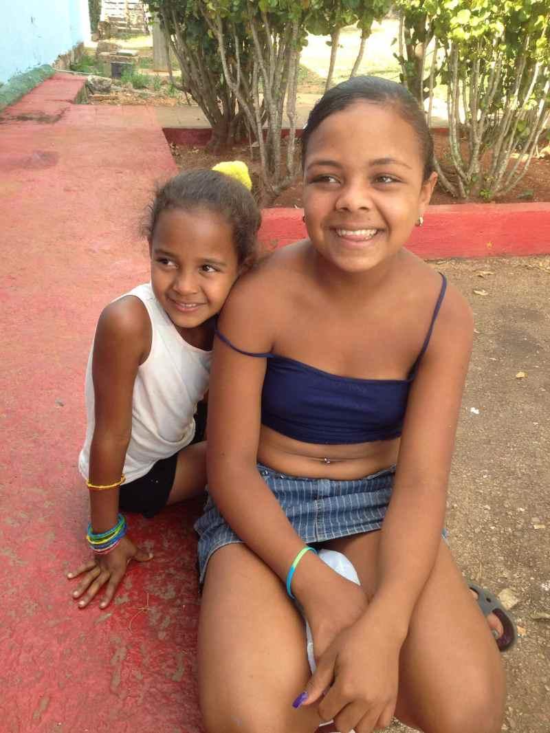 Sisters in Cuba