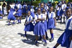 Schoolgirls. Photo courtesy of Plan.