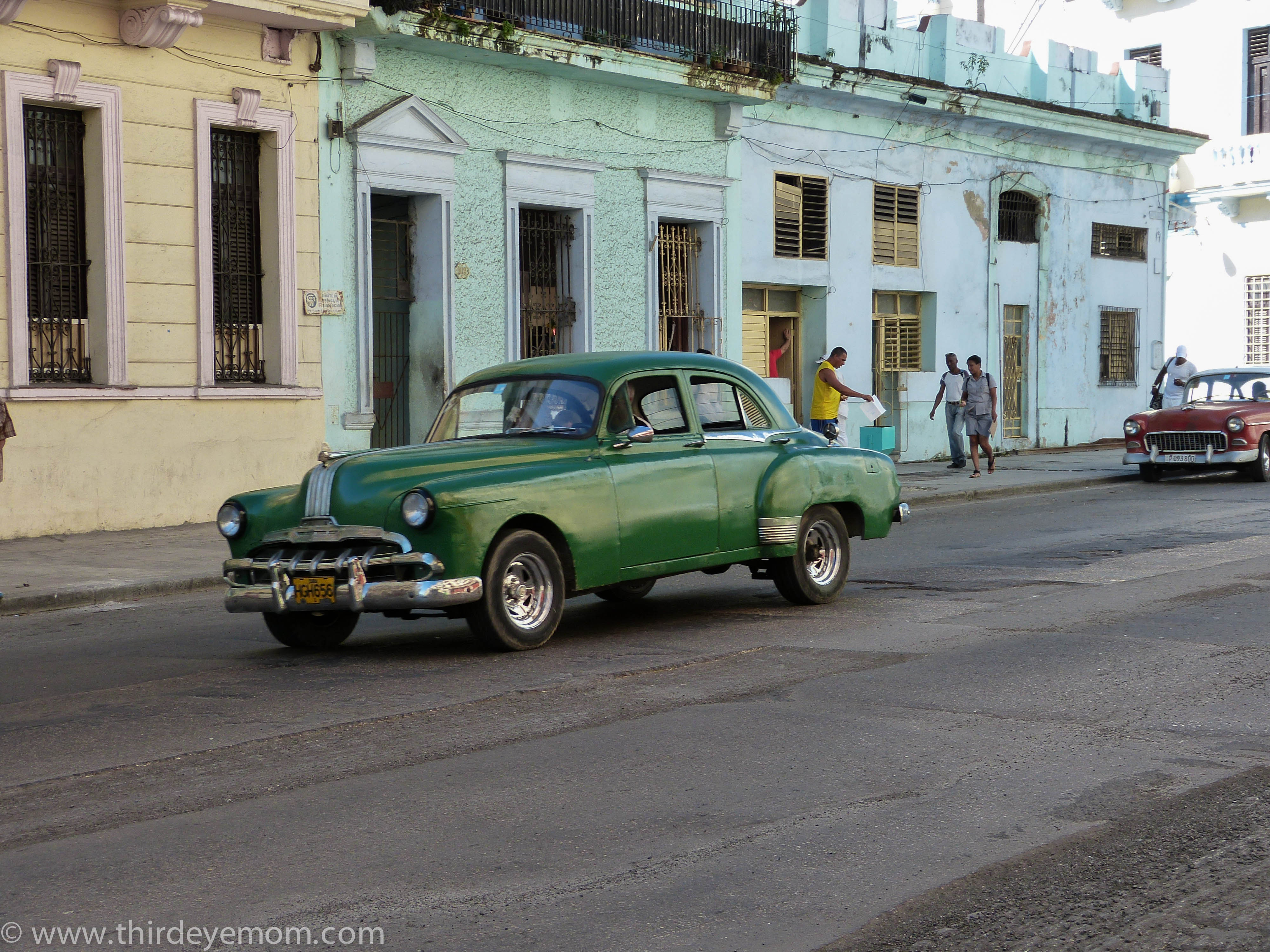 The Cars Of Havana Thirdeyemom