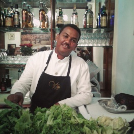 Dining at one of Ethiopia's fine Italian restaurants feels like being anywhere but Addis.