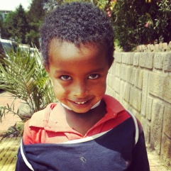 Ethiopian child
