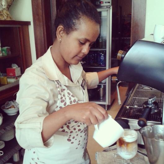 Coffee Shop in Addis
