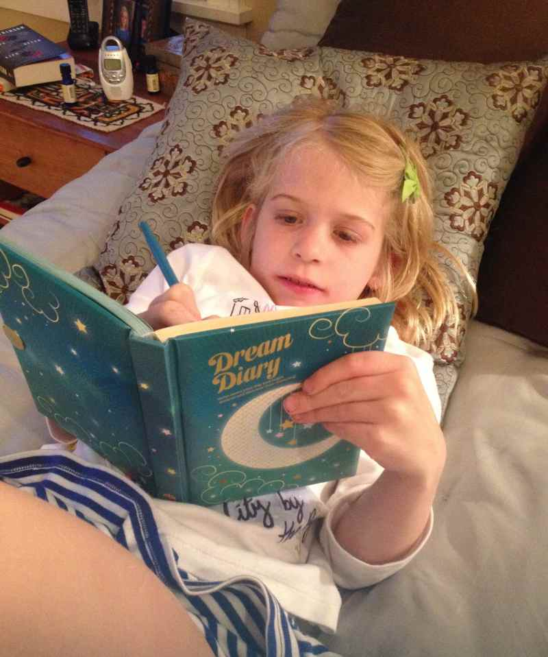Maybe she will be a writer like me someday?