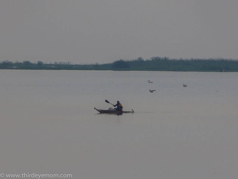 Papyrus boat on Lake Tana Ethiopia