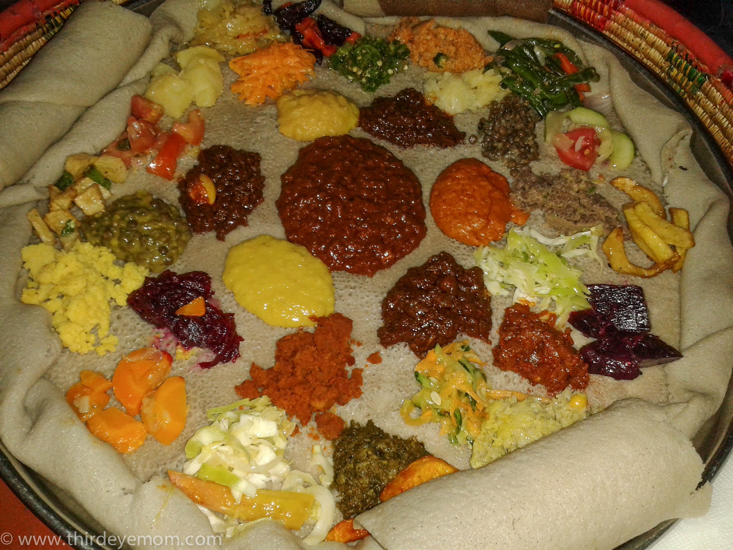 ethiopian cultural food South indian food has ingredients like tamarind, coconut, coriander, and so on   lentils is indeed considered to be of low grade food in ethiopian culture.