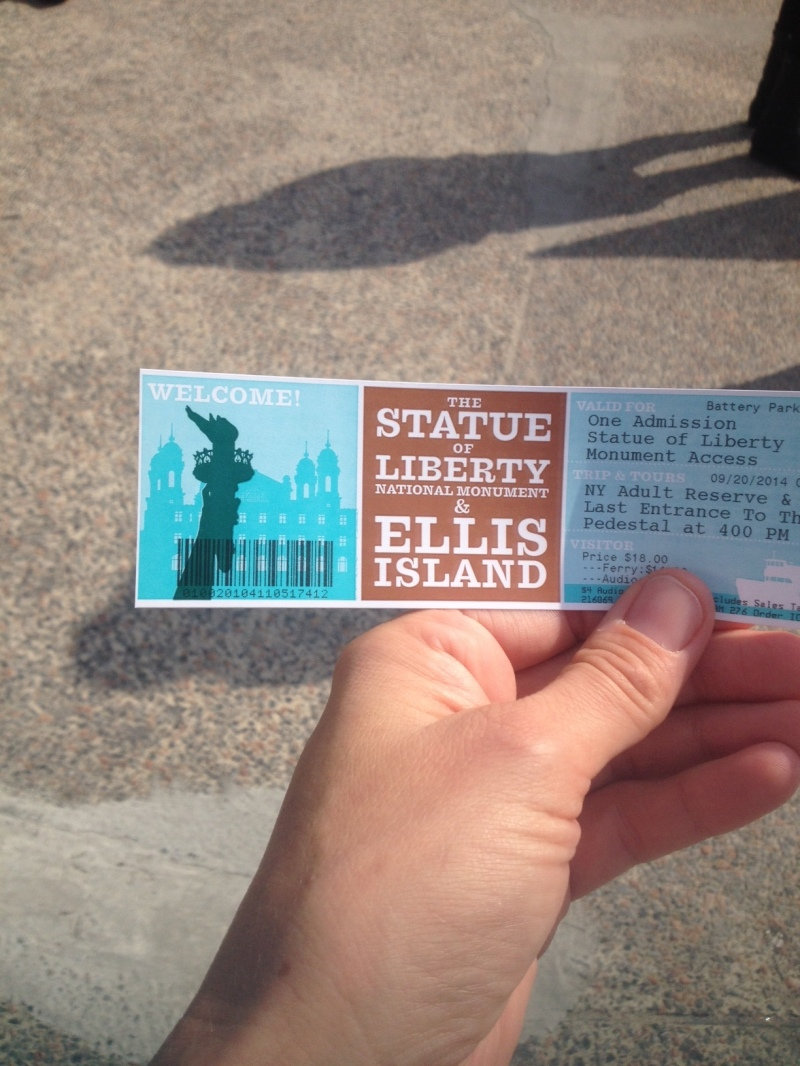 Tickets to Statue of Libery