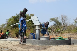 Drilling a well for The Obakki Foundation