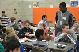 70 5th graders got to learn about energy poverty and help create lights for children their own age in Ethiopia