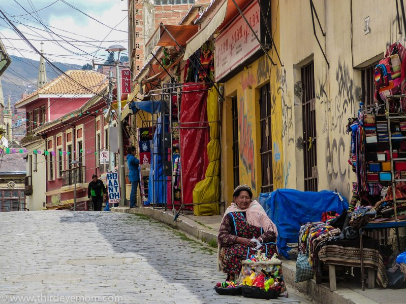 Woman in La Paz, Bolivia