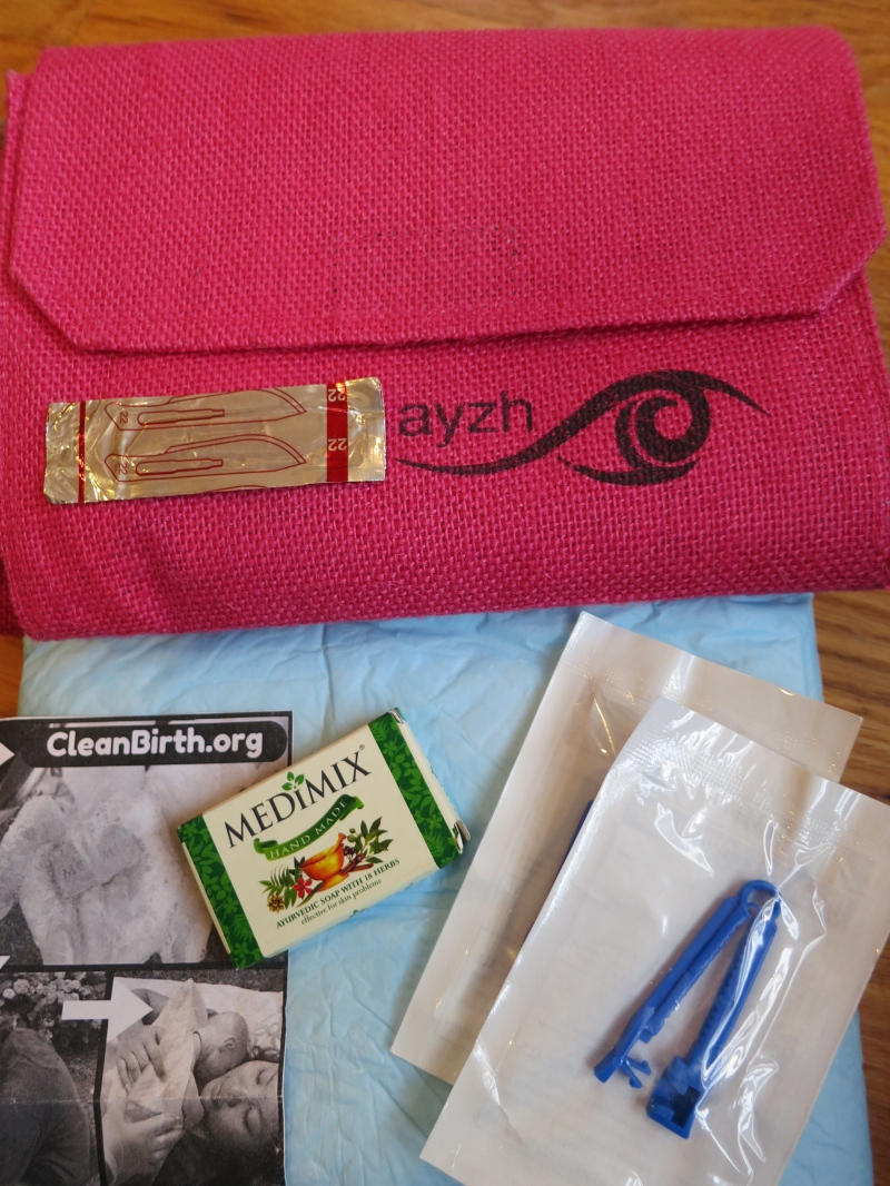 For $5, CleanBirth.org provides a sterile birthing kit for expectant mothers in Laos.