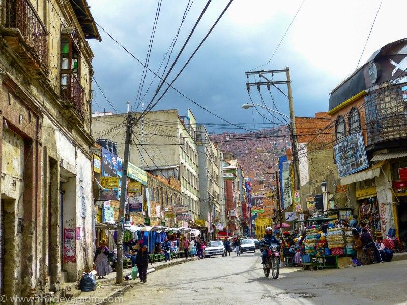 Produce Market La Paz Bolivia