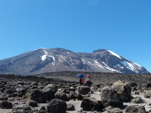 Hike to Lava Tower, Machame Route, Kilimanjar