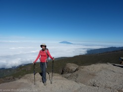 Hike to Karanga Camp Machame Route Kilimanjaro