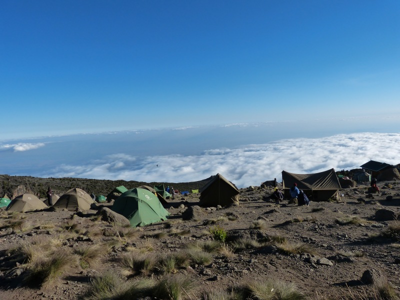Karanga Camp Machame Route Kilimanjaro