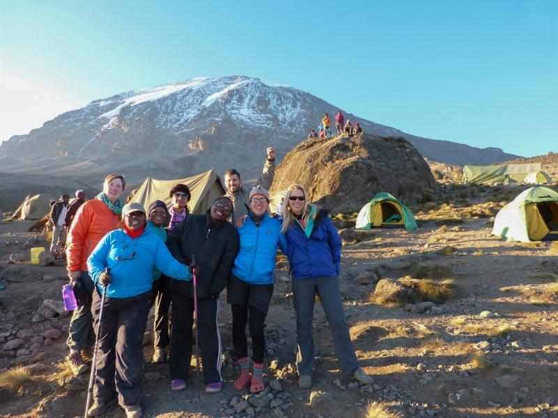 Karanga Camp Machame Route Kilimanjaro