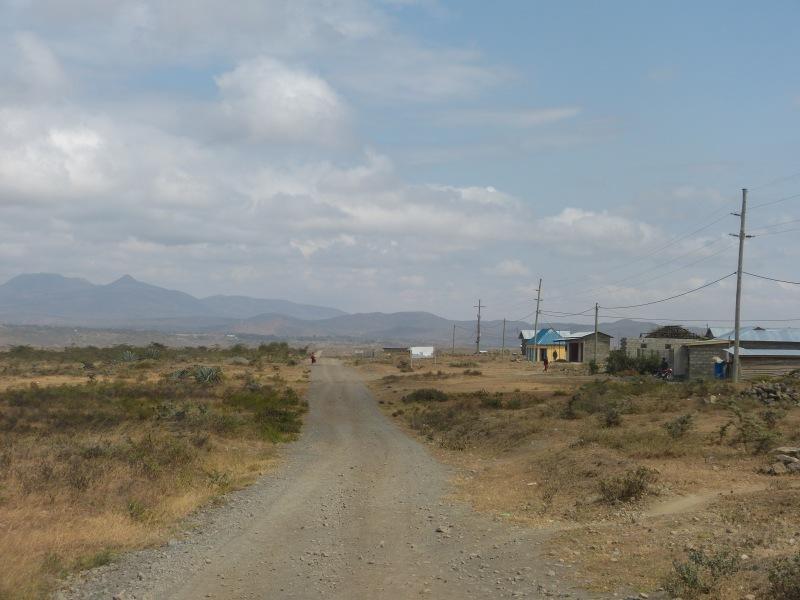 Driving to the Mkuru Training Camp in Tanzania