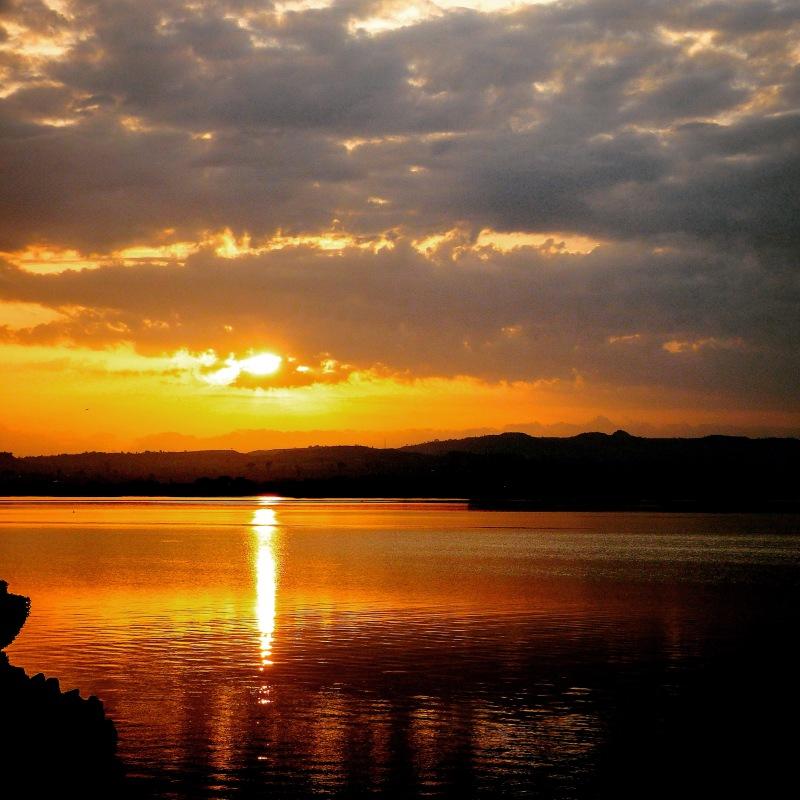 Sunset in Hawassa, Ethiopia