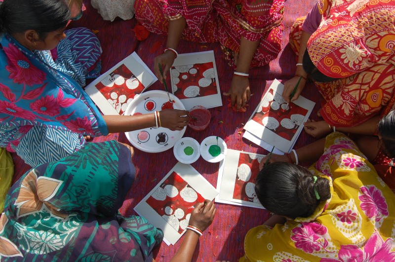 A Painting Design Workshop