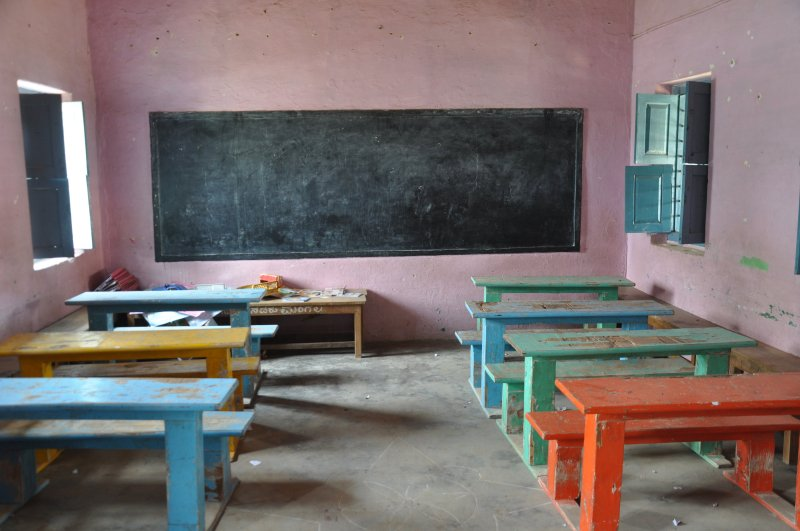 Class Room at Mangala School. (Photo Credit: Austin Thomas)