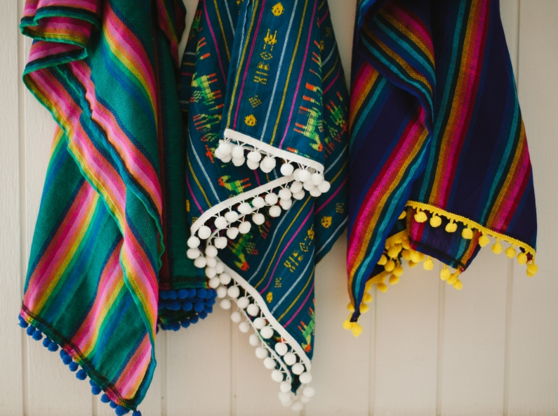 A blanket from Siestas for Fiestas Photo Credit: Mariel Hannah