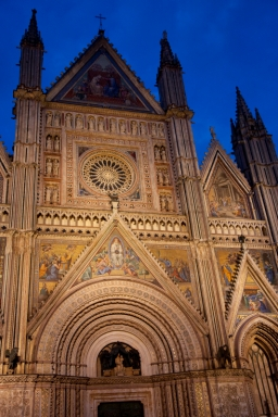 The famous cathedral, Orvieto, Umbria