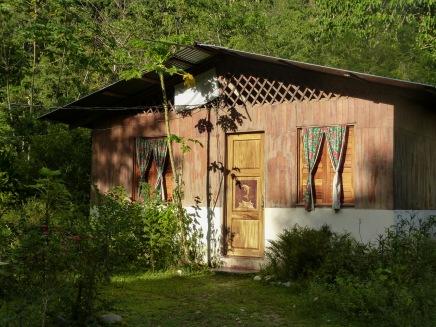 Xiña's home in Dos Brazos de Tigre